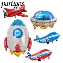 1 pc Large Infla Rocket balloons  foil Balloons Birthday Par