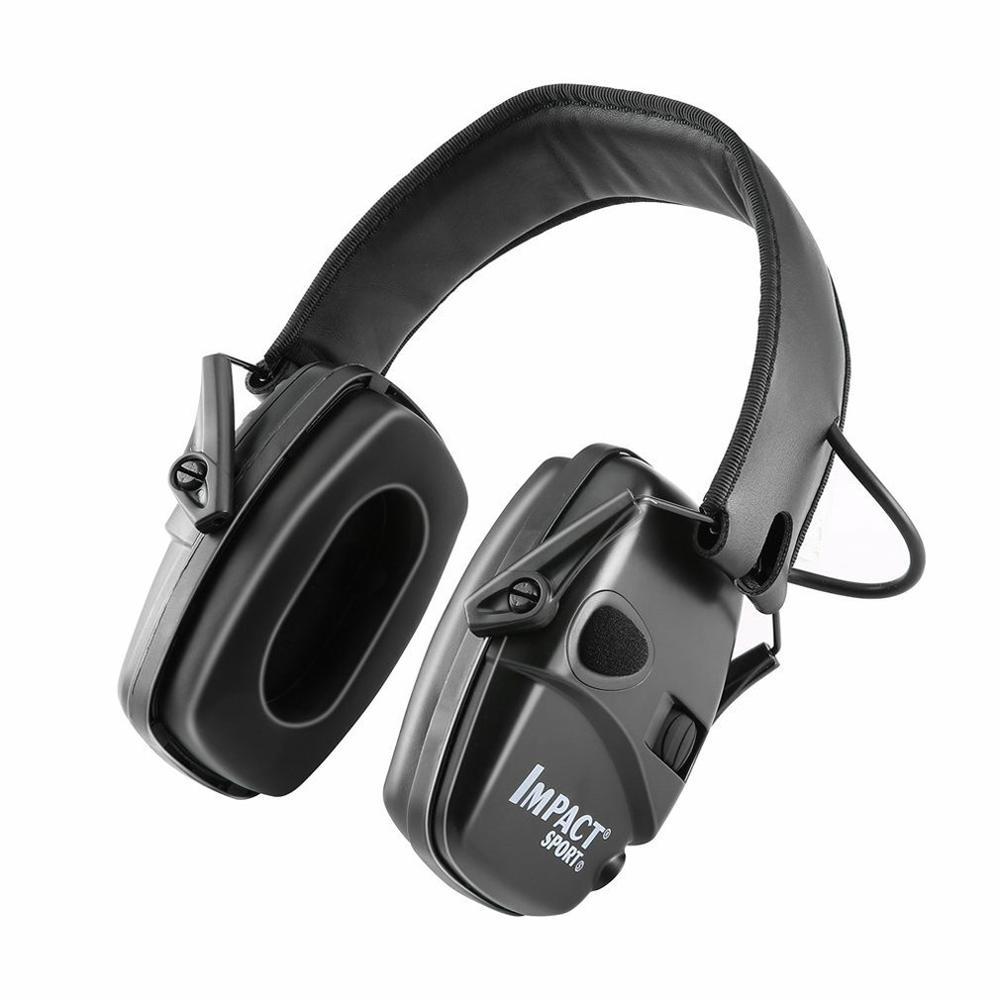 Горячая тактическая электронная съемка наушник Спорт на открытом воздухе Анти-шум гарнитура ударное Усиление звука слуха Защитная гарнитура-0