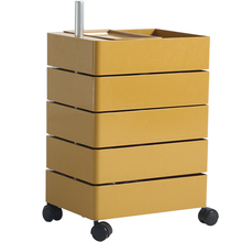 Side-Table Storage-Cabinet Movable Bedside 360-Rotating Office Multi-Layer Ins