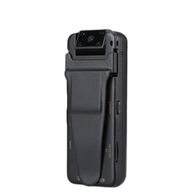 Vandlion 바디 착용 카메라 WiFi HD DVR 비디오 레코더 보안 캠 180 학위 야간 모션 감지 미니 A8