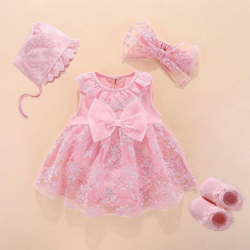 Одежда и платья для новорожденных девочек, хлопковое платье принцессы в стиле для крещения малышей, 2020, платье для новорожденных на крестин...