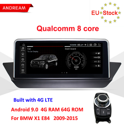 Andream 10,25 IPS Android 9.0 GPS Navigation Multimedia Player Für BMW X1 E84 Wifi Lenkrad ID6 Interface