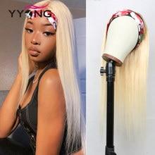 Parrucche per capelli umani Yyong 30 pollici 613 biondi per donne nere miele biondo brasiliano dritto Remy parrucche per capelli umani