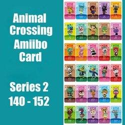 Serie 2 (140-152) animal Crossing Kaart Amiibo Sloten Nfc Kaart Werken Voor Ns Games Series 2 (140 Tot 152) Amiibo Kaart