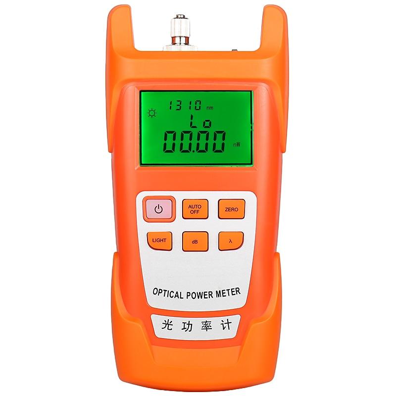 Orange AUA-9 Fiber Optical Power Meter Tester Optical Attenuation Loss Tester Optical Waner Optical Multimeter