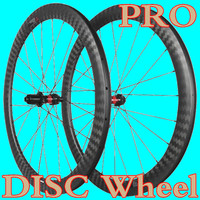 700C 45mm 50mm Pro clincher tubeless road disc carbon wheels 25mm wide 12k twill Novatec DT hubs cyclocross bicycle Wheel