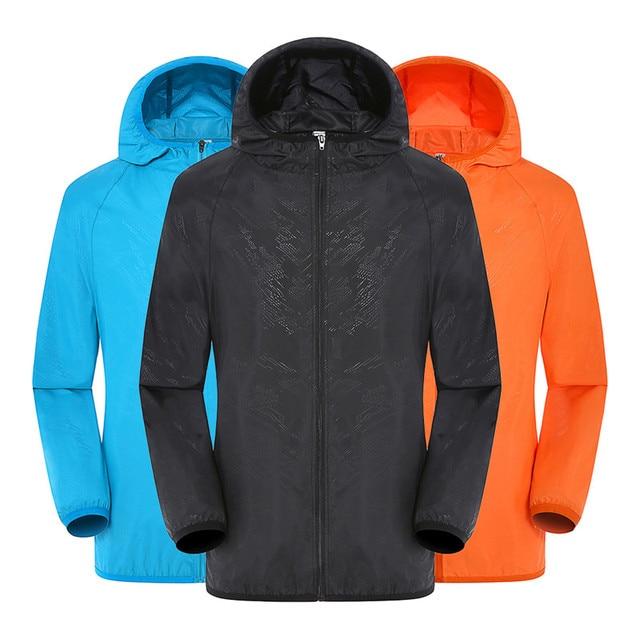 Men Women Adult Raincoat Men Women Casual Jackets Windproof Ultra Light Rainproof Windbreaker Top Environmental Rain Coat