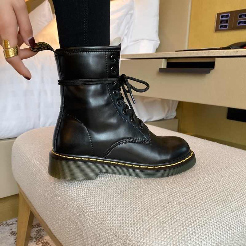 EGONERY חם צמר שלג מגפי מגניב נשים עור נעלי משלוח חיצוני צבאי מגפי חורף קרב 3cm נמוך עקבים נעלי נשים
