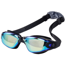Мужские и женские ПК очки водонепроницаемые очки с УФ-защитой гальванические плавательные очки непротекающий для взрослых противотуманный модный молодой