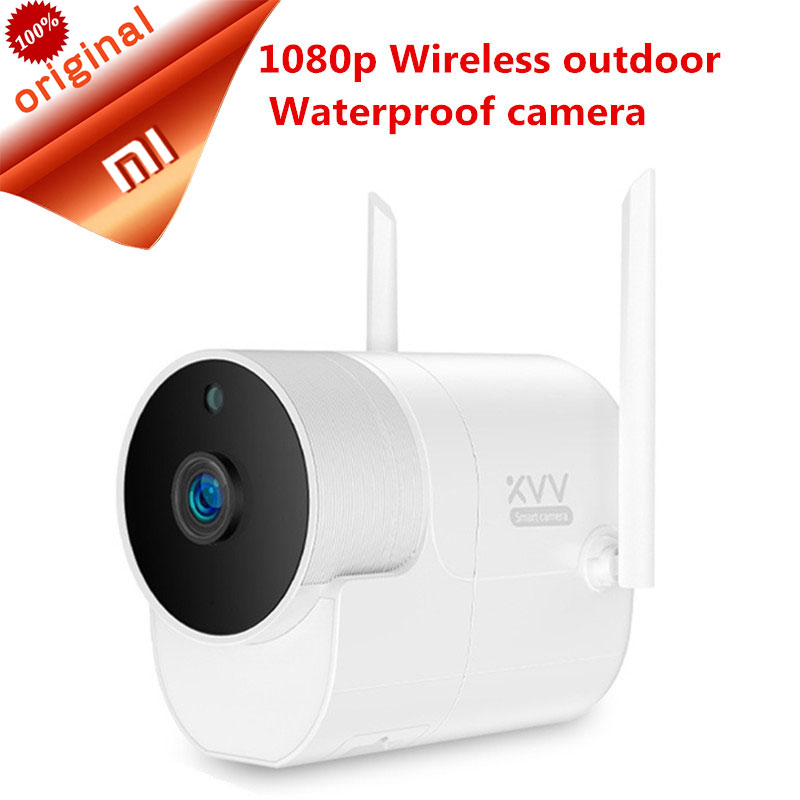 2019 Xiaomi Xiaovv Outdoor Panoramic Camera 1080P Surveillance camera Wireless WIFI High definition Night vision With