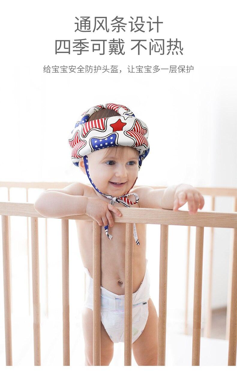 Baby Anti-fall Head Protection Pad Baby Toddler Anti-fall Headgear Child Anti-collision Artifact