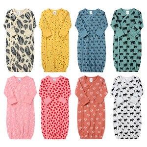 Пижама для маленьких мальчиков и девочек возрастом от 9 до 18 месяцев, 8 цветов, одежда для сна спальный мешок для малышей, весенне-летнее одея...