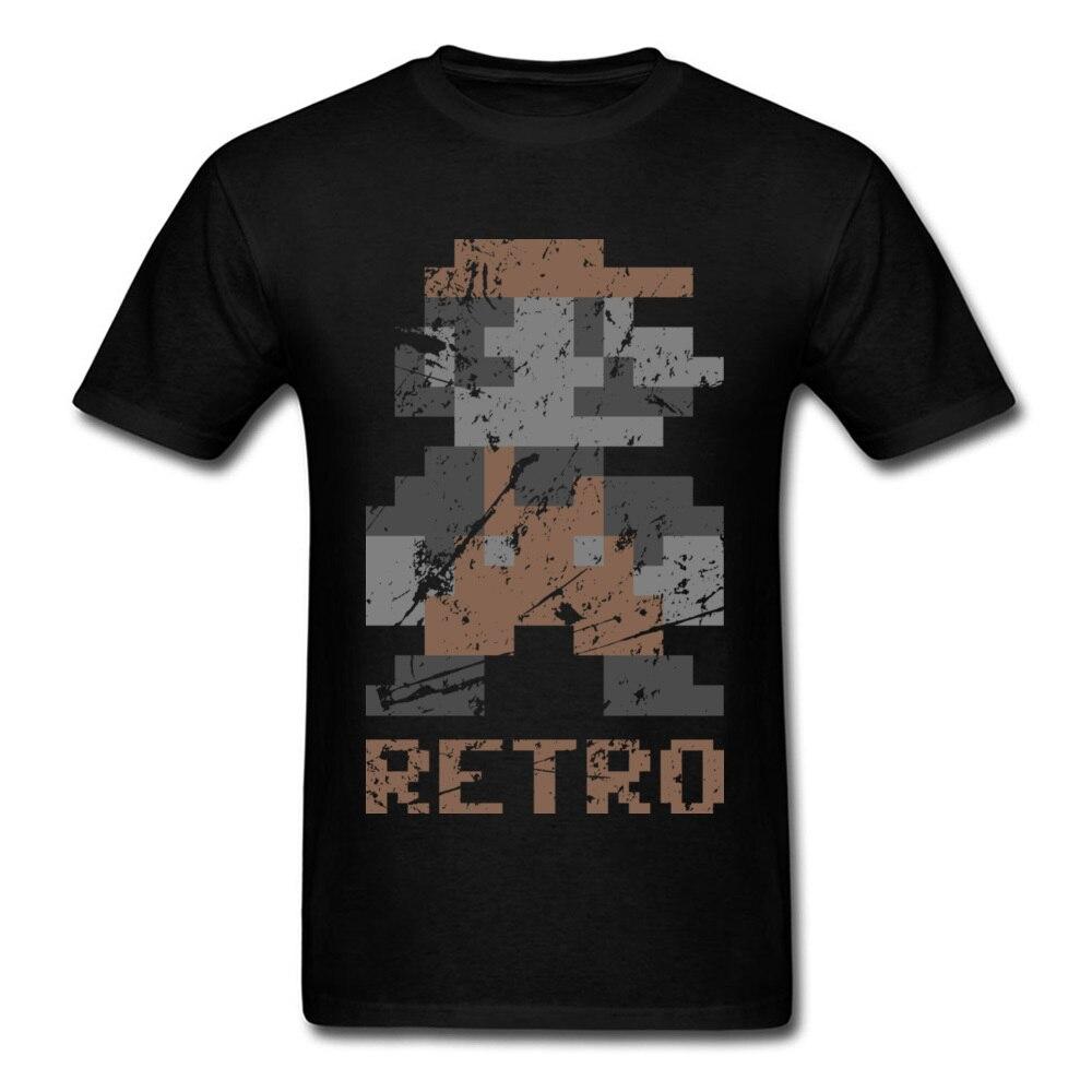 Retro Mario T-Shirts 3D Game Graphic Men's Fashion Hip Hop T Shirt Funny Video Movie Tshirt For Student Custom