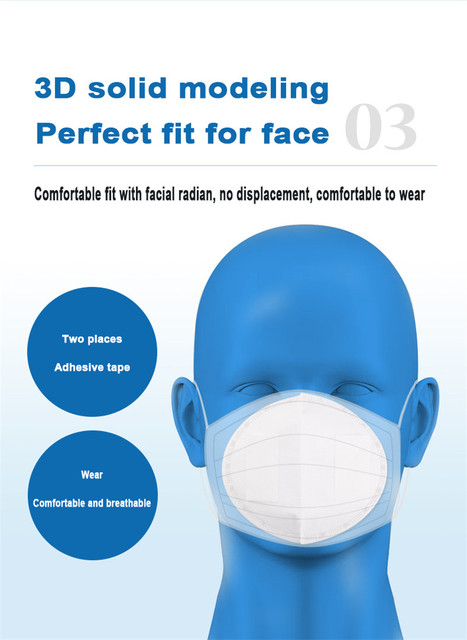 50pcs Disposable Anti Dust Haze Cloth 3-layer Dust Mask Filter Face Mask Gasket Anti Dust Haze Cloth Replacement Pad Anti-flu