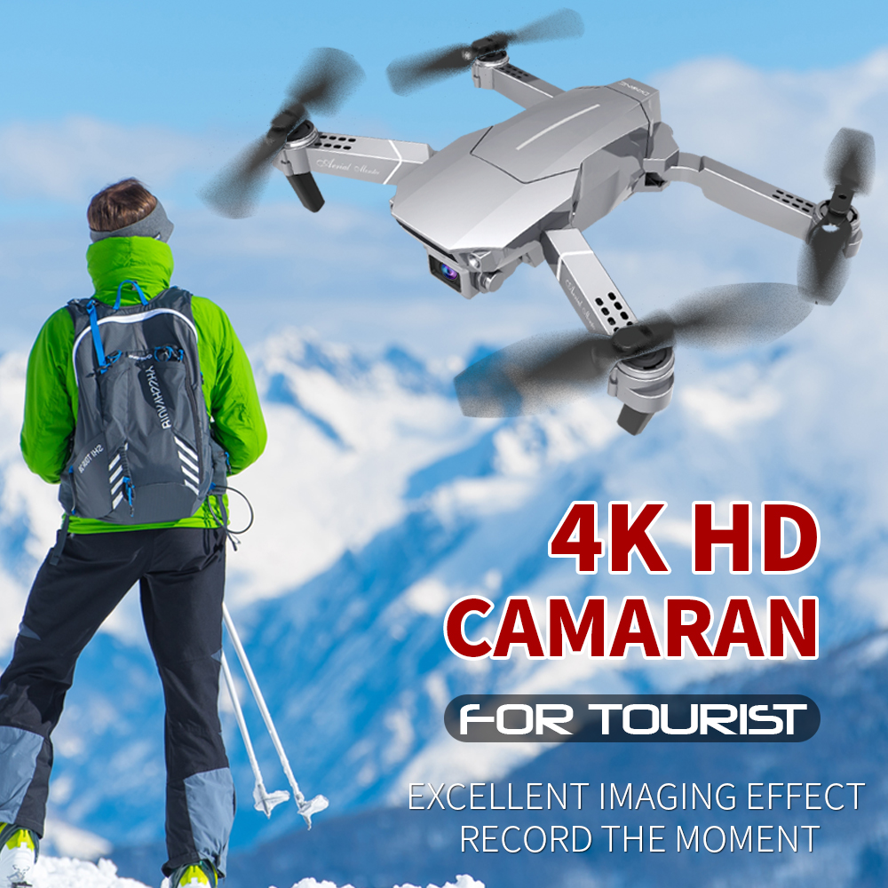 E98 Drone With Camera 4K HD WIFI FPV RC-Helicopter 2020 New Drone Air Pressure Hover Anti-shake Quadcopter Aircraft Kids Toys