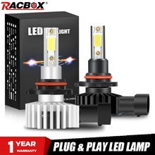 2pcs H4 H1 H7 H11 H8 H9 H27 880 881 9012 9005 HB3 9006 HB4 Car LED Headlight Lamps Bulbs 72W 12000LM H3 Fog Light 6500K 10000K
