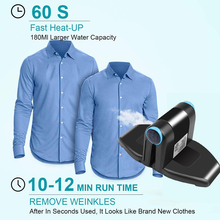 Folding Portable Iron Compact Touchup And Perfect Mini Electric Foldable Travel Iron Foldable Iron For Collar Drop/ship