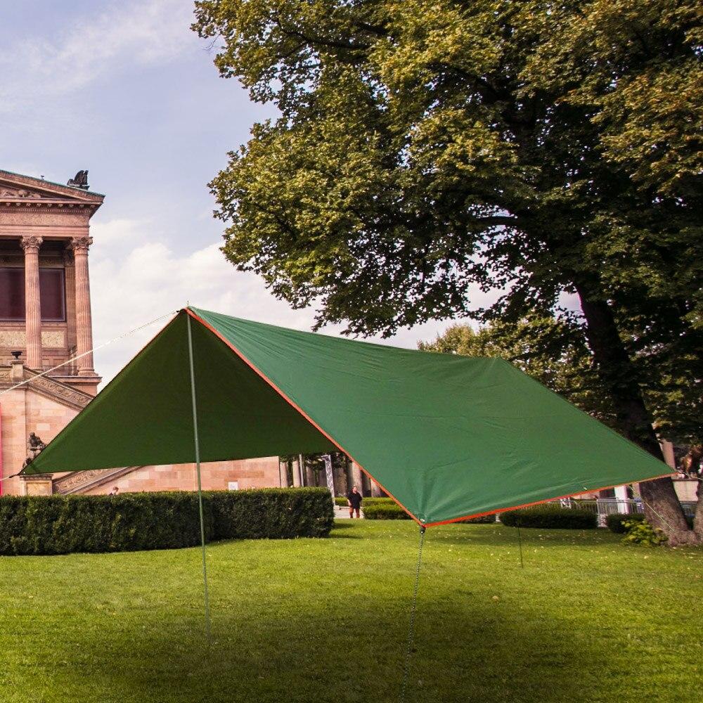 Outdoor Waterproof Tent Tarp Awning Canopy Sun Shade Rain Shelter Camping