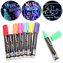 Pen-Marker-Pen-Set Liquid-Chalk-Marker Blackboard Graphic-Drawing Glass Pens Neon-Pen