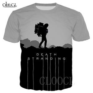 Image 1 - יוניסקס T חולצה מות והעמד היפ הופ Tshirts 3D הדפסת משחק אנימה T חולצת קיץ אופנה מזדמן סוודר לגברים נשים Dropship