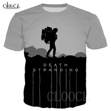Unisex T Shirt Death Stranding Hip Hop Tshirts 3D Print Game Anime T Shirt Summer Fashion Casual Pullover For Men Women Dropship
