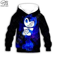 Kids Cloth Anime Bendy Cartoon Children's wear 3d hoodies/tshirt/boy sweatshirt Cartoon Hot Movie pant style-4