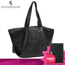 SC na co dzień mody skórzana Tote torba dla kobiet liczi wzór damskie z prawdziwej skóry bydlęcej bardzo duże torby na ramię kobiet miękka torebka torebka w stylu Hobo