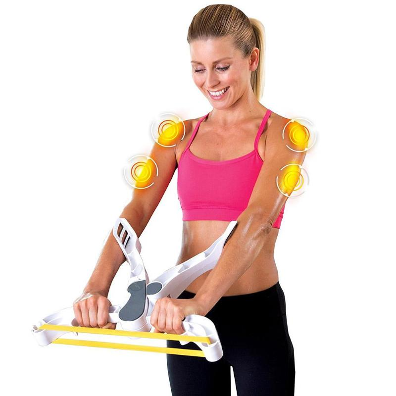 Arm Strength Exerciser Fitness Gym Equipment Forearm Trainer Grip White Muscle Device Hand Gripper Fitness Tool Strength Body