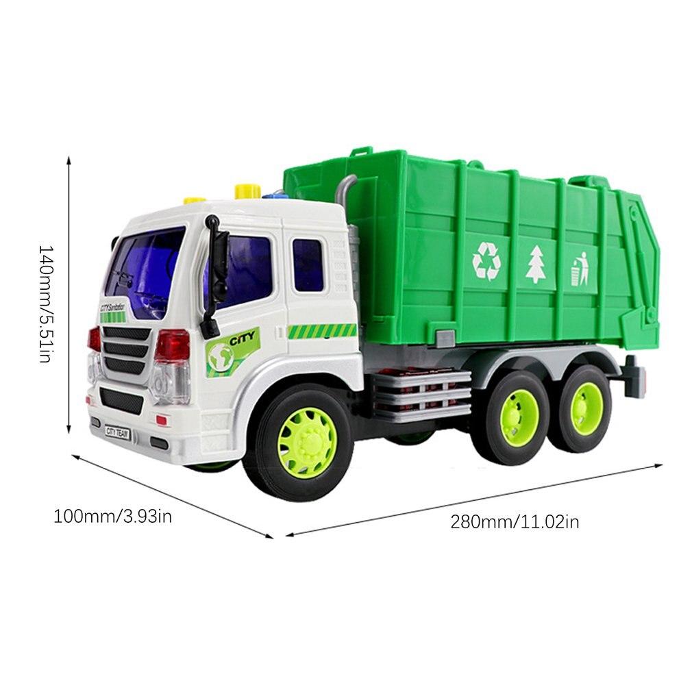 carro de lixo simulação inércia caminhão de lixo
