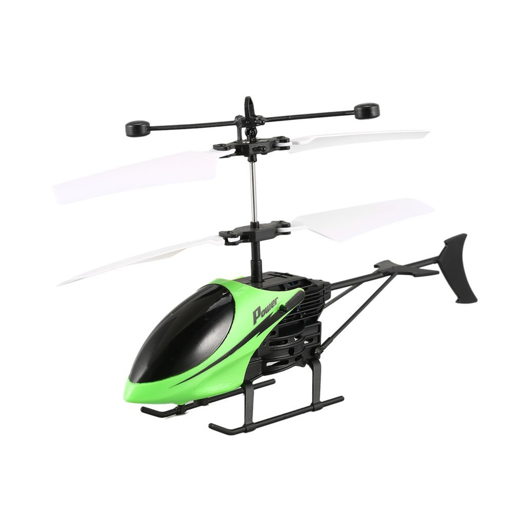 Mini RC Airplane Helicopter Infrared Induction USB Remote Control Turn left/right Quadcopter