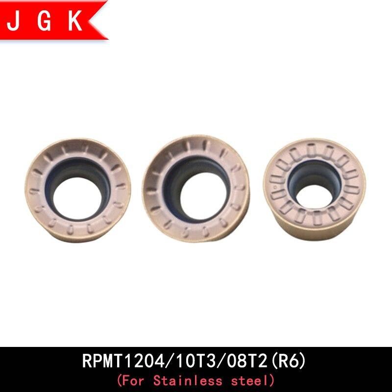 RPMT Round Milling Tool RPMT08T2 RPMT10T3 RPMT1204 RPMT08T2MO RPMT10T3MO RPMT1204MO Emr Tool Rod Apply Stainless Steel