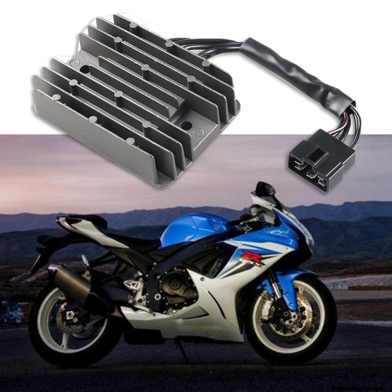 Motosiklet voltaj regülatörü doğrultucu için Suzuki GSXR 600 750 1000 Hayabusa GSX1300R hırsız ateşleme aksesuarları title=