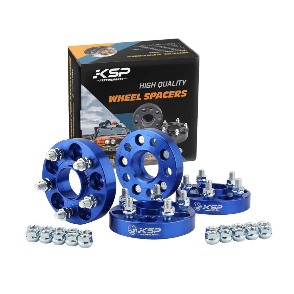KSP 5X100 Hubcentric 56.1mm Hub Bore Wheel Spacers 25mm M12x1.25 Fit For Subaru Impreza Legacy Forester Scion FR-S