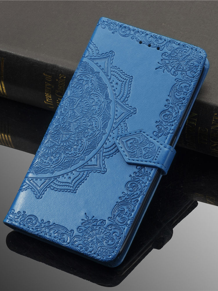 Flip-Case Book Phone-Cover Samsung Galaxy for M80s/M60s/M40s/.. Business Wallet Embossed