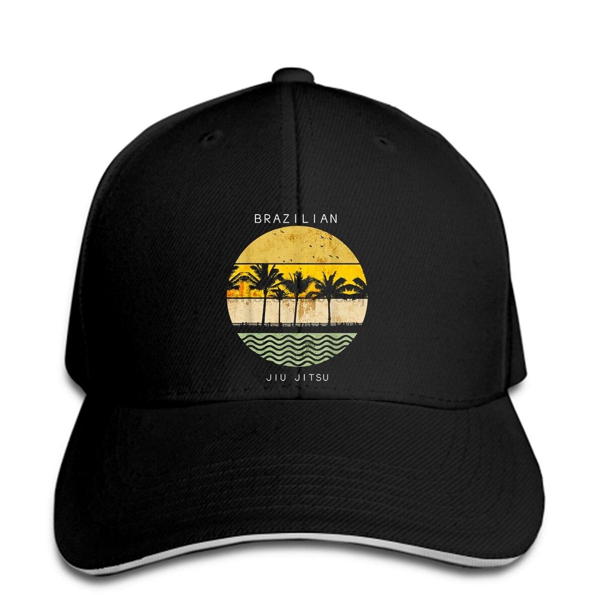 Baseball Cap Hot Sale Fashion Brazilian Jiu Jitsu Hat For Men BJJ Tropical Snapback Hat