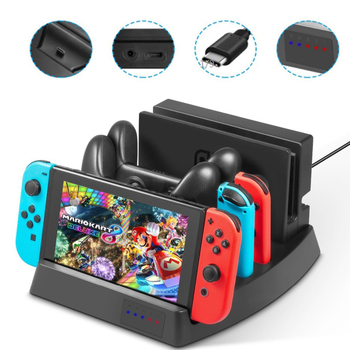 Multi Function Charging Dock For Nintendo Switch NS Dock
