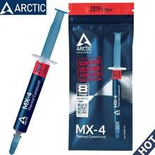 ARCTIC MX-4 2g 4g 8g 20g AMD Intel процессор процессорный кулер вентилятор охлаждения термопаста VGA составной радиатор штукатурка паста