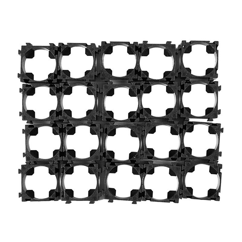 20 Pcs 18650 Lithium Cell Battery Holder Bracket For DIY Battery Pack