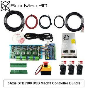 Image 4 - 4 עופרת ציר CNC נתב מכונת ערכת + Mach3 GRBL USB בקר צרור + שרשרת צרור + 4pcs Nema23 מנועים צעד