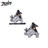 UIN TECH F1 Hydraulic Disc Brake Road Bike Oil Disc Brake Cable Pull Integrated Double Action Oil Disc