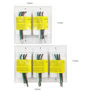 Image 3 - Smart WiFi Licht Touch Wand Schalter UNS Interruptor Drahtlose Elektrische Voice Control Fernbedienung durch Tuya Smartlife Alexa Google Hause