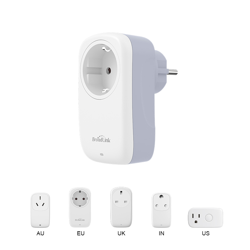 BroadLink SP WiFi Smart Plug Socket EU works with Alexa Google Home IFTTT