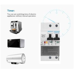 Image 4 - Ikinci nesil 2P WiFi akıllı devre kesici ile enerji izleme ve metre fonksiyonu Amazon Alexa ve Google ev