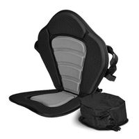 Onefeng Sports Adjustable Padded Kayak Seat Cushion With Canoe Backrest Seat Bag