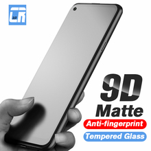 9D No Fingerprint Matte Protective Glass for Vivo V17 V15 X27 S1 Pro Z5X IQOO NEO Y19 Y17 Y12 Y11 Fr