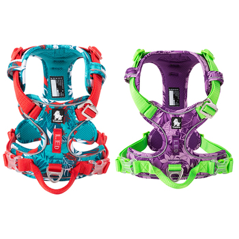 TRUELOVE Pet Dog Harness Camouflage Reflective Nylon Special Edition Easy to Adjust  TLH5653