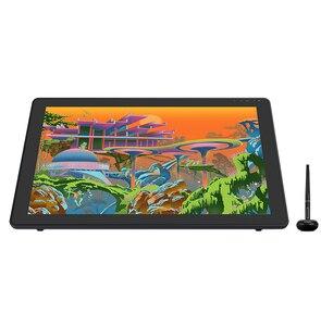 HUION Kamvas 22 плюс графический ручки Дисплей Цифровая живопись планшетный монитор 21,5 Дюймов с антибликовым покрытием травления Стекло 140% sRGB