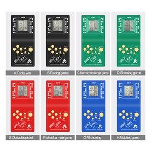 Image 3 - Tetris باليد لعبة لاعب LCD الإلكترونية لعبة اللعب جيب لعبة وحدة التحكم الكلاسيكية الطفولة للهدايا