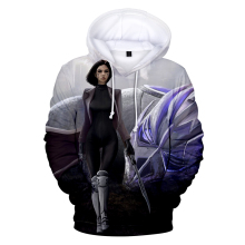 Alita Battle Angel Hoodies Kawaii 3D Print Sweatshirts Women/Men Clothes 2019 Hot Sale Casual Plus Size