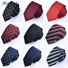 New 5cm/1.97inch Fashion Adult Skinny Mans Tie Korean Dot Striped Solid Colors Slim Neckties Corbatas Para Hombre Men Gift